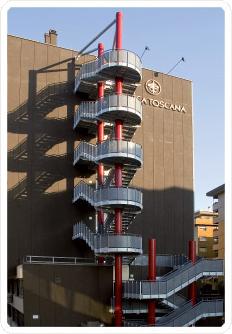 la pieve scale, scale sicurezza, scale antincendio